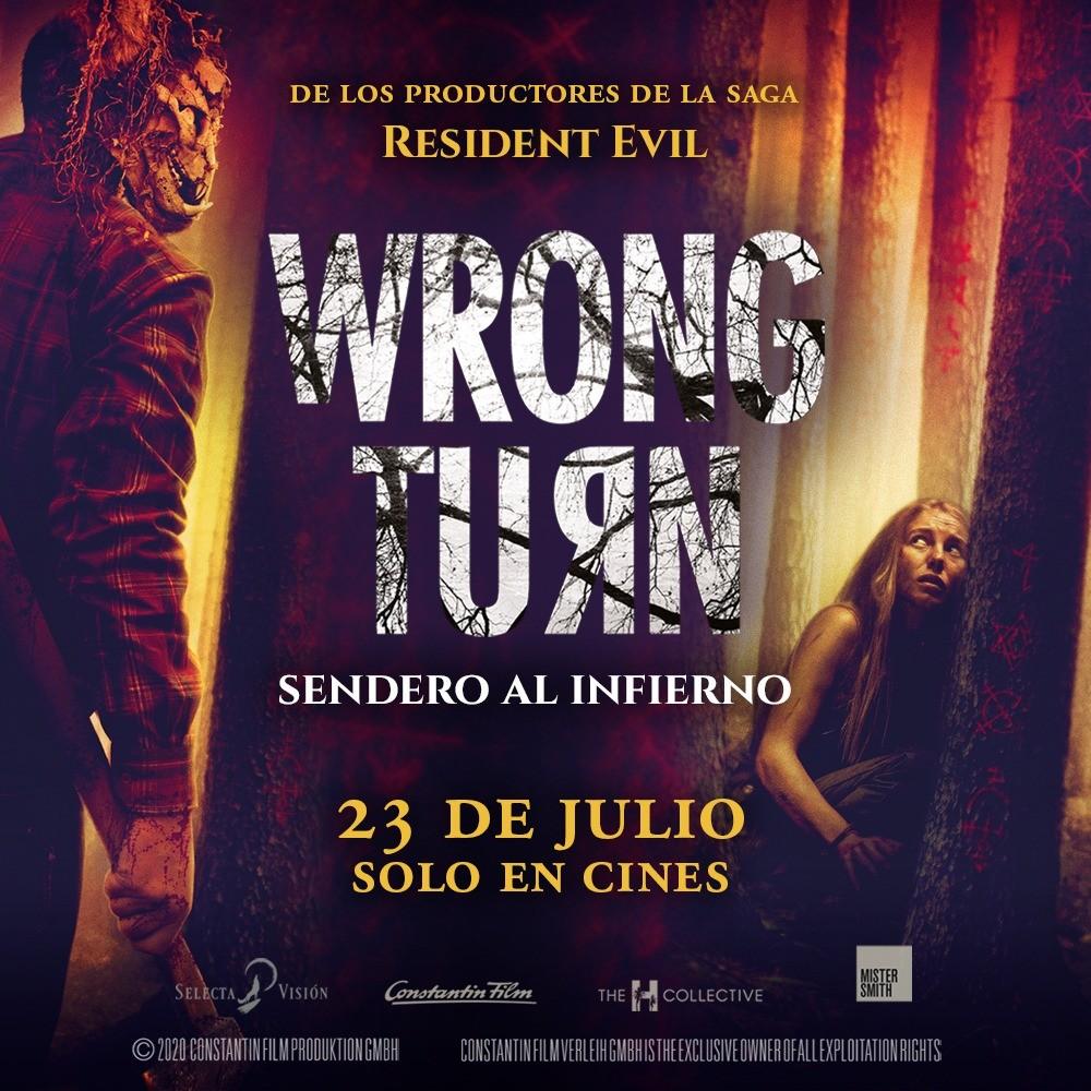 WRONG TURN, SENDERO AL INFIERNO LLEGA A LOS CINES EL 23 DE JULIO