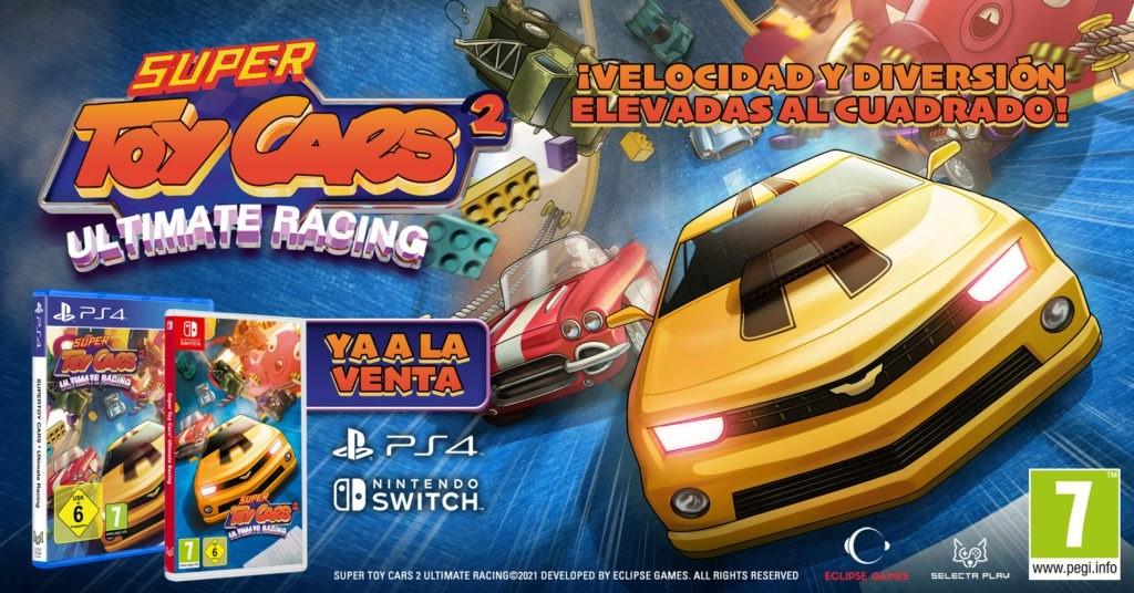 Super Toy Cars 2 Ultimate Racing, diversión elevada al cuadrado
