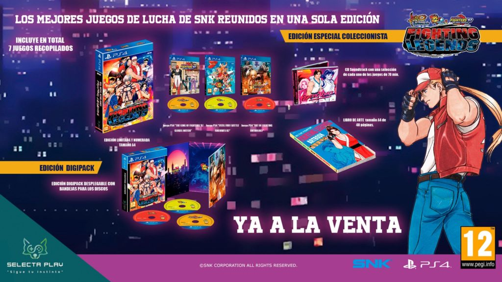 Fighting Legends, videojuego recopilatorio de SNK Classics ya disponible