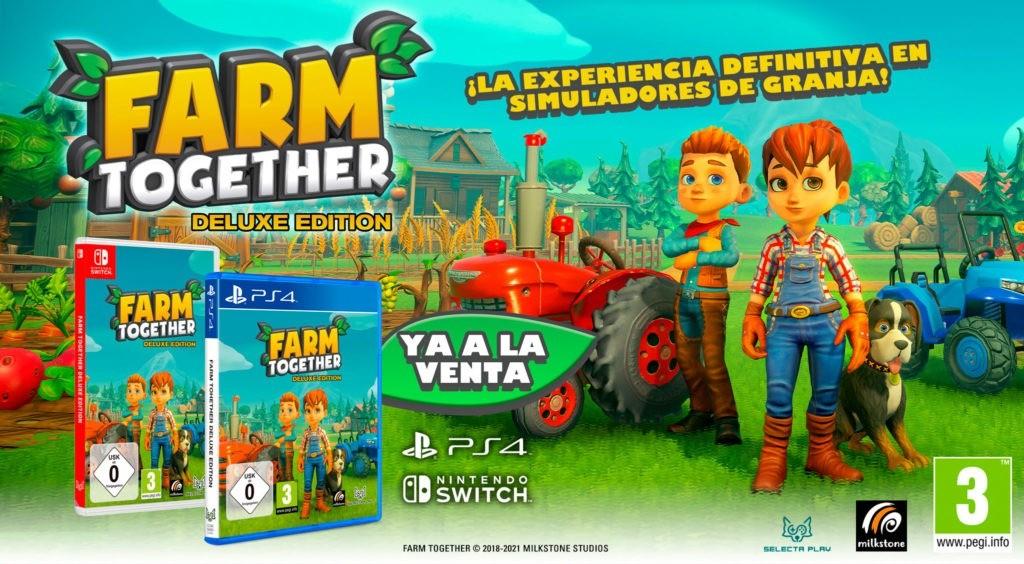 FARM TOGETHER YA A LA VENTA