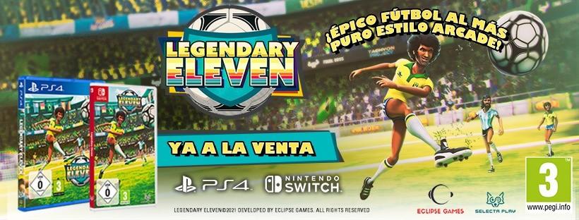 LegendaryEleven futbol arcade en estado puro