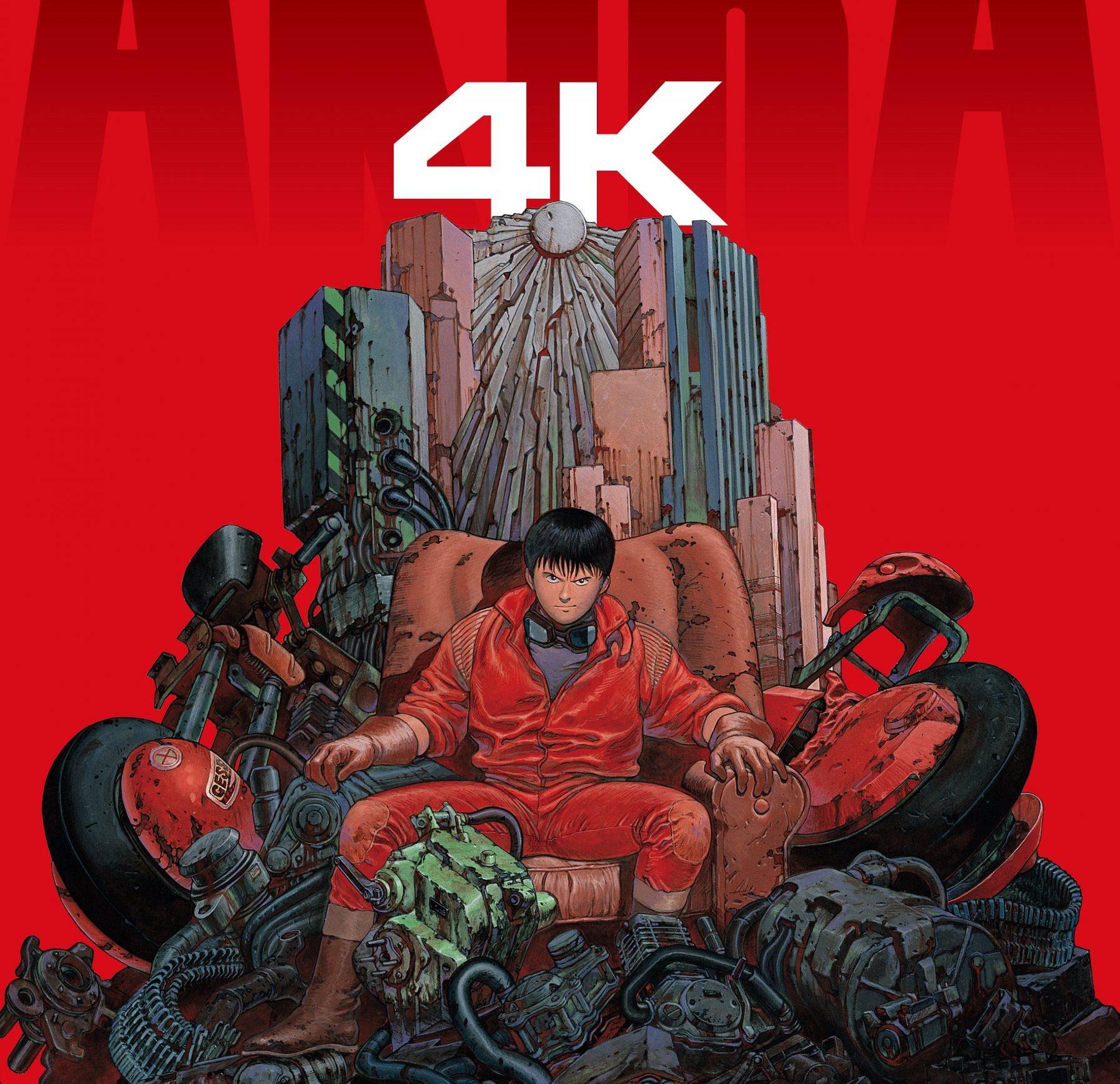 Akira llega en 4K a los cines de España el 11 de diciembre