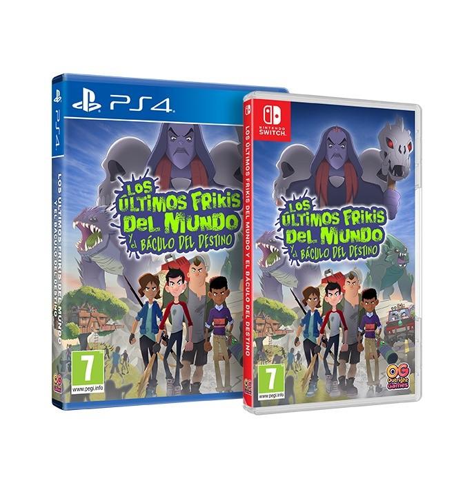 Los Últimos Frikis del Mundo y el Báculo del Destino para Nintendo Switch y PS4