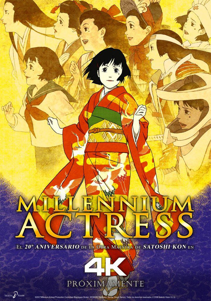 MILLENIUM ACTRESS 4K
