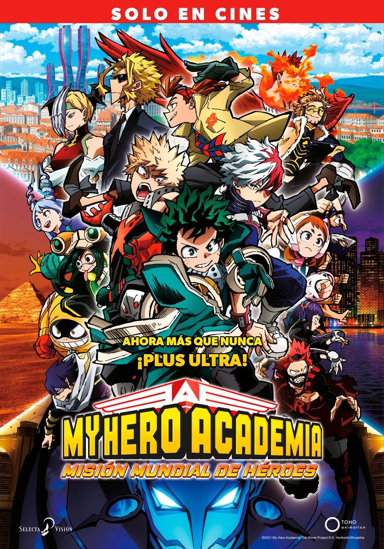 My Hero Academia 3 Poster Selecta Visión